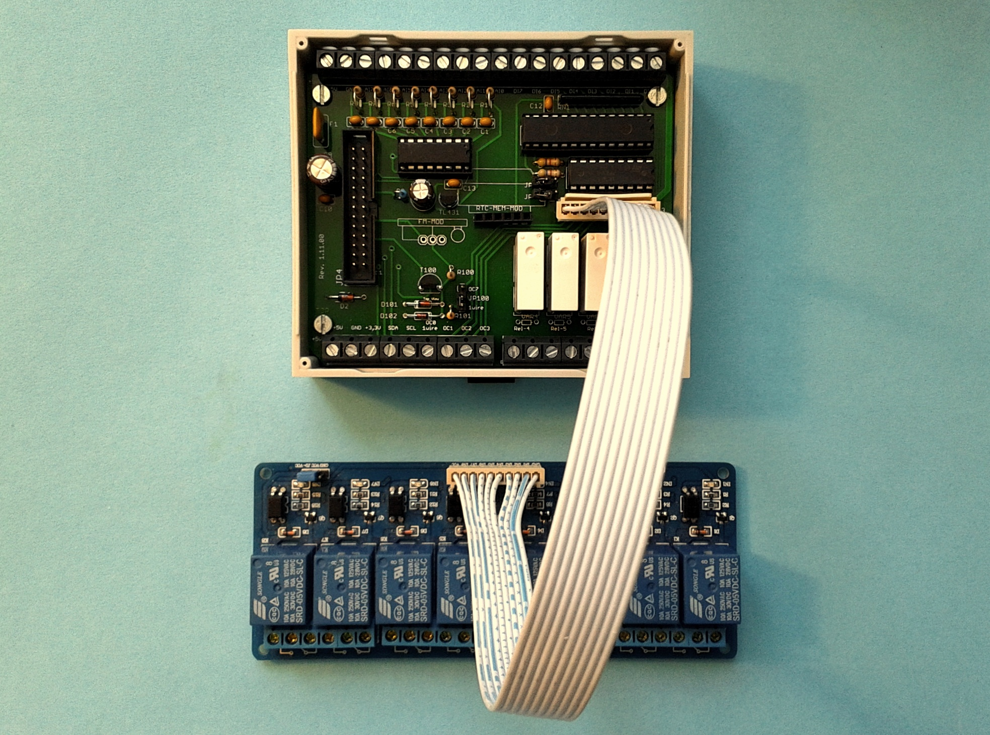 Raspberry Pi Io Erweiterung 1wire Analog Digital Relais I2c Wiringpi Mcp3008 C Bild 2 Hubo Mit Lastrelaisoption