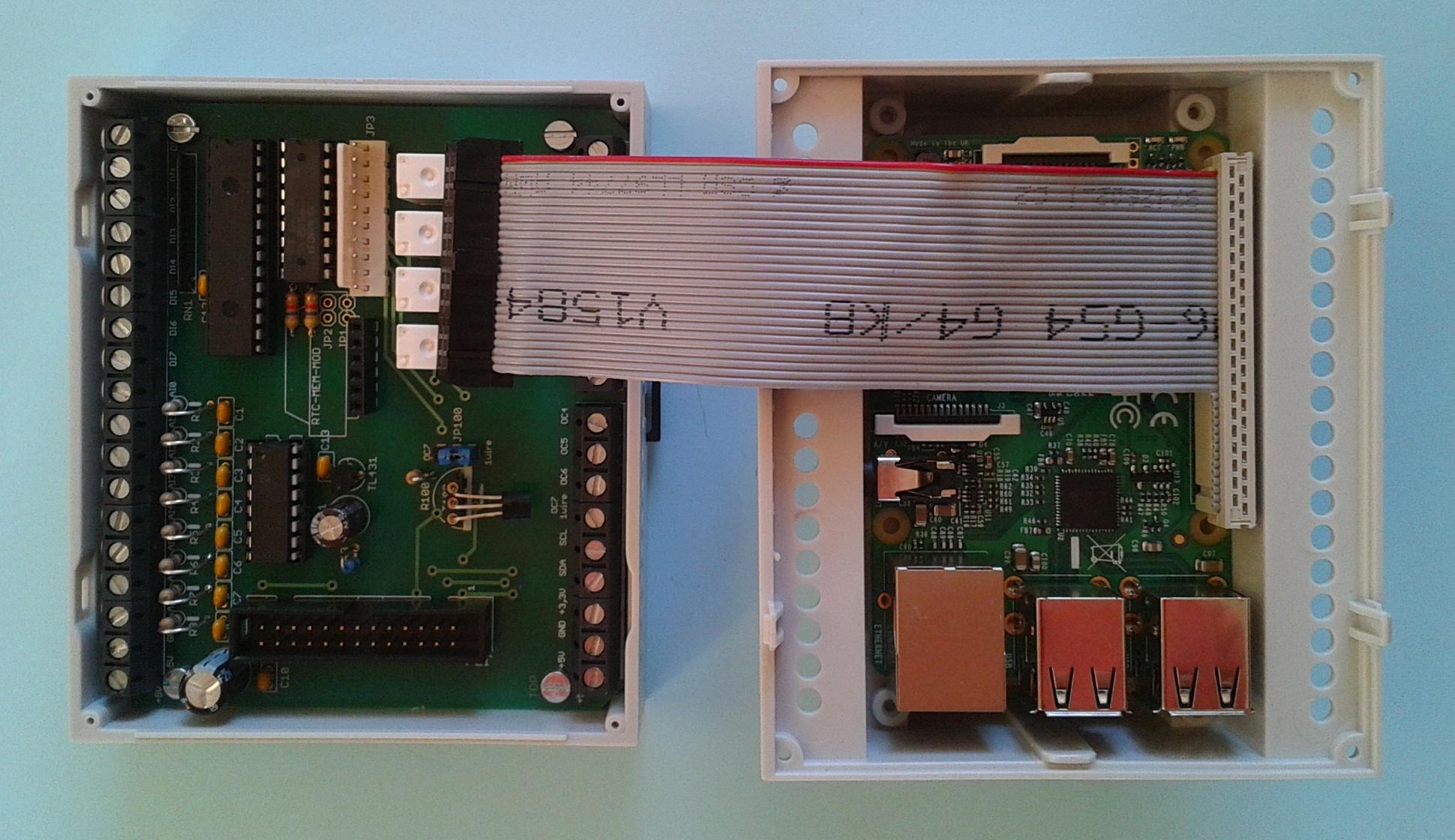 von der sps heizungssteuerung zum raspi digital analog relais rtc 1wire board. Black Bedroom Furniture Sets. Home Design Ideas